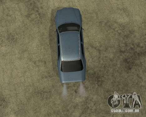 Mersedes-Benz E-500 Armenian para GTA San Andreas vista traseira