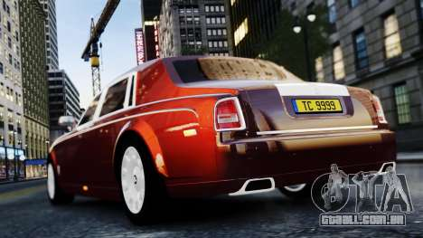 Rolls-Royce Phantom EWB 2013 para GTA 4 vista direita