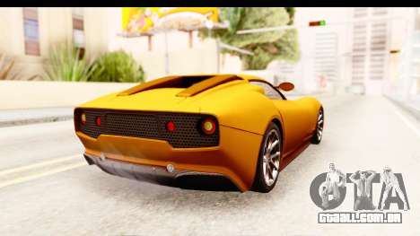 Lucra L148 2016 para GTA San Andreas esquerda vista