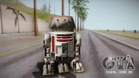 R5-D4 Droid from Battlefront para GTA San Andreas