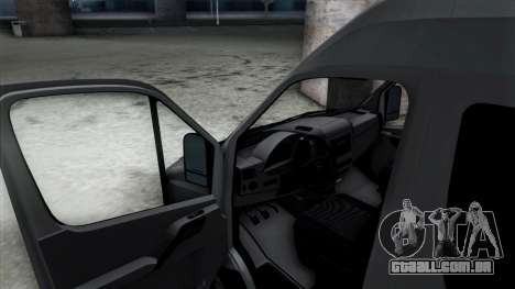 Mercedes-Benz Sprinter para GTA San Andreas interior