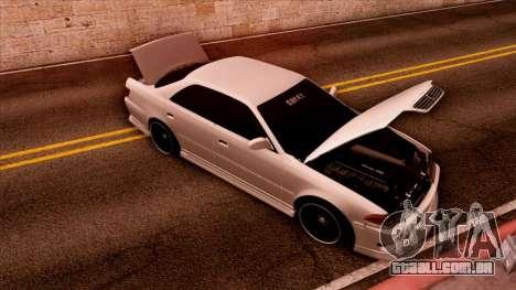 Toyota Mark II para GTA San Andreas vista traseira