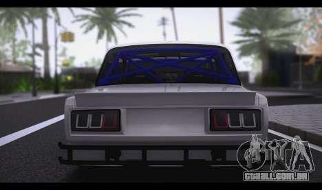 VAZ 2105 Sport para GTA San Andreas esquerda vista
