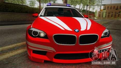 BMW M5 Touring NEF para GTA San Andreas vista direita