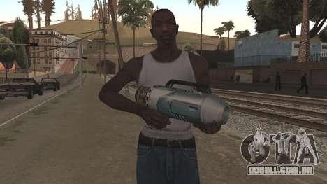 Spudgun from Bully SE para GTA San Andreas segunda tela