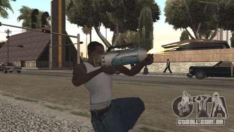 Spudgun from Bully SE para GTA San Andreas por diante tela