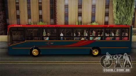 Nuovobus MB OF1418 Linea 302 para GTA San Andreas traseira esquerda vista