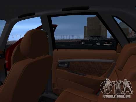 VAZ 2170 STANCE para vista lateral GTA San Andreas