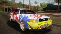 Toyota AE86 2 Door Levin para GTA San Andreas