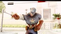 Marvel: Ultimate Alliance 2 - Captain America para GTA San Andreas
