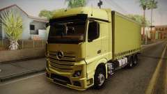 Mercedes-Benz Actros Mp4 v2.0 Tandem Big para GTA San Andreas
