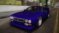 Lancia Rally 037 Stradale (SE037) 1982 IVF Dirt1 para GTA San Andreas
