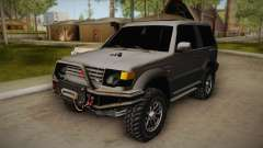 Mitsubishi Pajero 3-Door Off-Road
