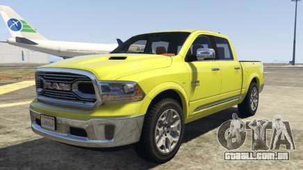 Dodge Ram Limited 2016 para GTA 5