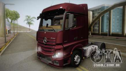 Mercedes-Benz Actros Mp4 4x2 v2.0 Bigspace v2 para GTA San Andreas