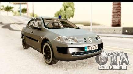 Renault Megane 2 Sedan Unmarked Police Car para GTA San Andreas