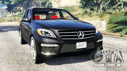 Mercedes-Benz ML63 AMG (W166) 2015 [replace] para GTA 5