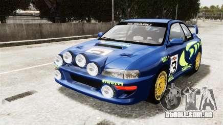 Subaru Rally WRC Impreza 98 v8 para GTA 4
