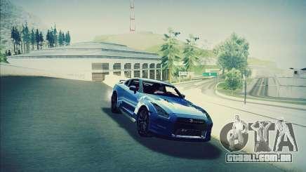 Nissan GT-R R35 Premium para GTA San Andreas