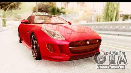 Jaguar F-Type R Coupe 2015 para GTA San Andreas