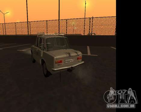 VAZ 21013 Krasnoyarsk stil para GTA San Andreas vista traseira