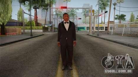 GTA 5 Franklin Tuxedo v2 para GTA San Andreas segunda tela