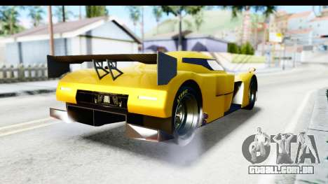 GTA 5 Annis RE-7B para GTA San Andreas esquerda vista