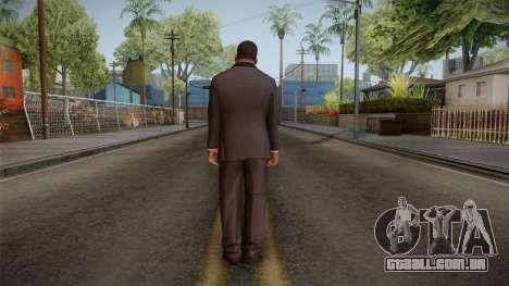 GTA 5 Franklin Tuxedo v2 para GTA San Andreas terceira tela