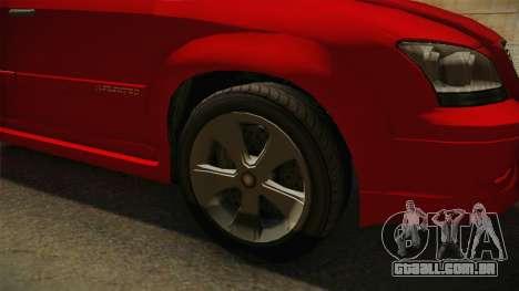 GTA 5 Emperor Habanero para GTA San Andreas vista traseira