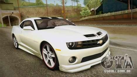 Chevrolet Camaro Synergy para GTA San Andreas