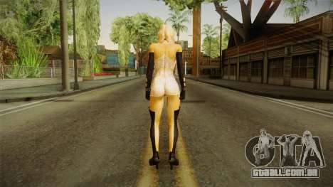 Rachel RE Lace v2 para GTA San Andreas