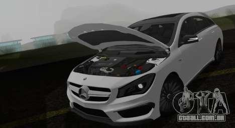 Mercedes-Benz CLA 45 AMG para GTA San Andreas vista direita