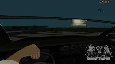 Sultan Kaefoon para GTA San Andreas vista interior
