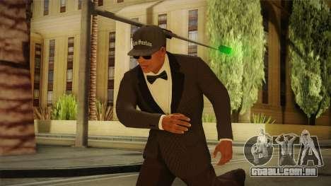 GTA 5 Franklin Tuxedo v4 para GTA San Andreas