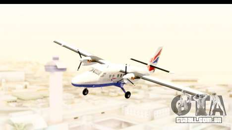 DHC-6-400 de Havilland Canada para GTA San Andreas traseira esquerda vista