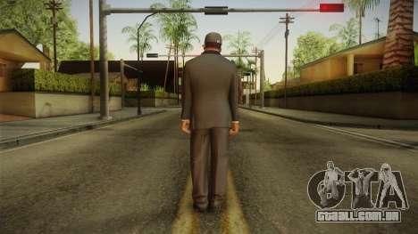 GTA 5 Franklin Tuxedo v4 para GTA San Andreas terceira tela