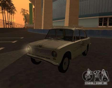 VAZ 21013 Krasnoyarsk stil para GTA San Andreas vista direita
