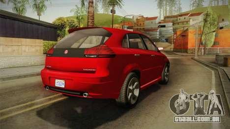 GTA 5 Emperor Habanero para GTA San Andreas vista direita