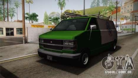 GTA 4 Burrito para GTA San Andreas vista direita