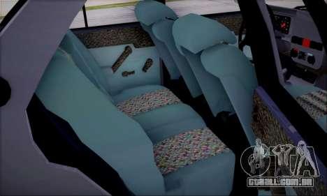 Tofas Dogan SLX 1.6 i.e para GTA San Andreas vista interior