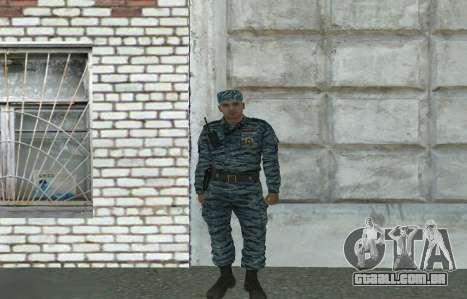 Motim de policiais (verão) para GTA San Andreas