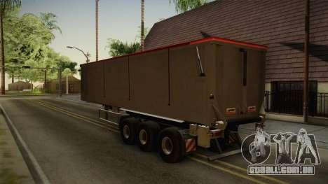 SRB35 para GTA San Andreas traseira esquerda vista