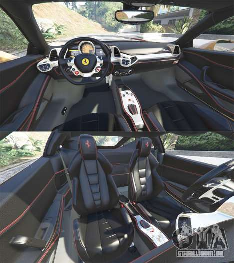Ferrari 458 Italia [add-on] para GTA 5