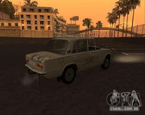 VAZ 21013 Krasnoyarsk stil para GTA San Andreas vista interior