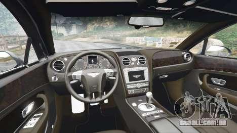 GTA 5 Bentley Flying Spur [add-on] vista lateral direita