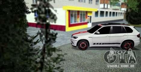 BMW MX5 para GTA San Andreas esquerda vista