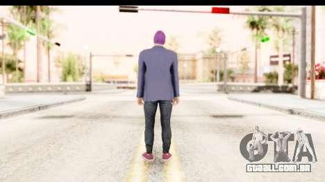 GTA 5 Random Skin 1 para GTA San Andreas terceira tela