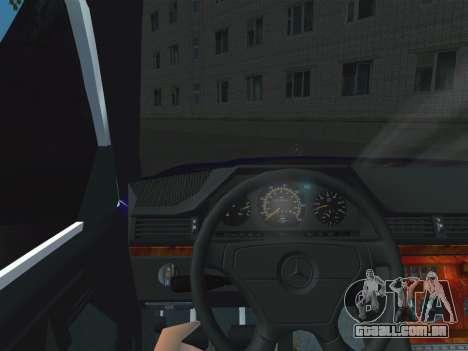 Mercedes-Benz E500 AMG para GTA San Andreas vista direita