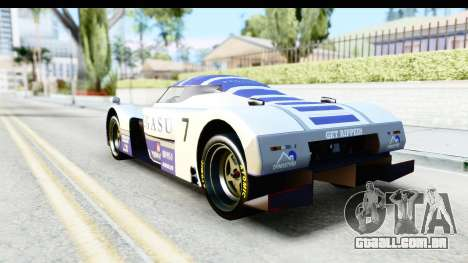 GTA 5 Annis RE-7B para GTA San Andreas vista superior
