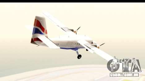 DHC-6-400 de Havilland Canada para GTA San Andreas esquerda vista